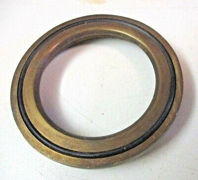 Vintage Roman Tub / Sink Bathroom Faucet Spout Dark Brushed Brass Ribbed Fluted 6