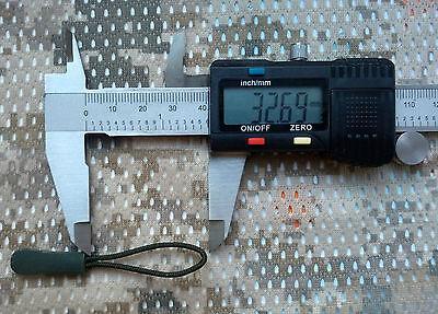 10 Reißverschluss Zippverschluss Zipp Zip Pull-Reißverschluss-Außen EDC MollRSDE