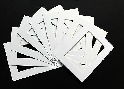 Pack of 100- Bespoke Mounts / Picture Mounts / Frame Mounts + Backs + Clear Bags 2