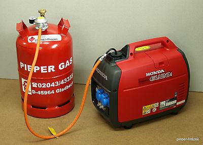 Honda EU20i Stromerzeuger Generator 2KW nur für Gasbetrieb Garantie 2 Jahre 5