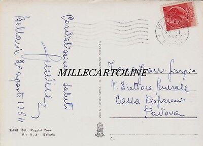 BELLARIA: Albergo Marconi e spiaggia    1954