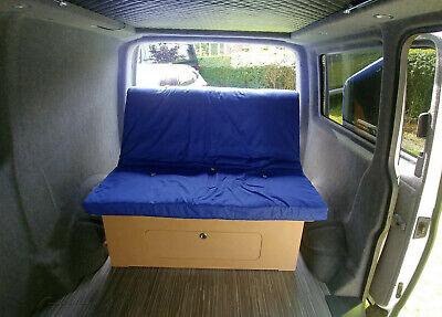 6FT X 4FT Sliding rock and roll camper van bed - motorhome, caddy maxi,  doblo