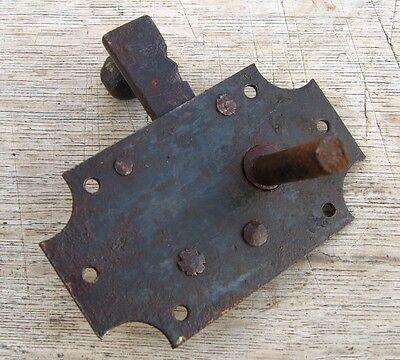 AntiqueFrenchDoor Latch, Handmade 2