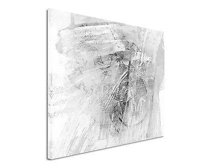 Leinwandbild abstrakt schwarz grau weiß Paul Sinus Abstrakt/_807/_120x80cm