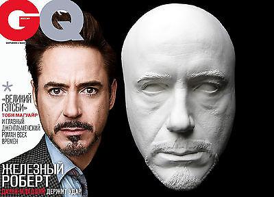 Robert Downey Jr Tony Stark Iron Man Life Mask Lifecast Hot Toys 2