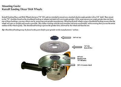 """Very Coarse Kutzall Extreme Shaping Dish Diameter DW412X120 114.3mm 4-1//2/"""""""