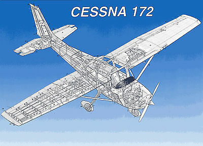 CESSNA 172 SERIES Service Repair Manual & Illustrated Parts Manuals  1963-1968 CD