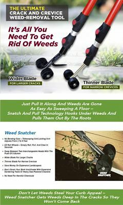 THE WEED SNATCHER, Crack and Crevice Weeding Tool 2