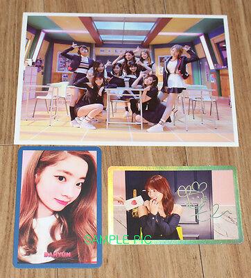 TWICE SIGNAL 4TH Mini Album A Ver  K-POP CD + PHOTOCARD SET + FOLDED POSTER  NEW