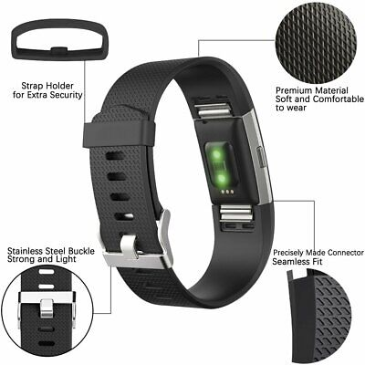 Fitbit Charge 2 Band Replacement Wristband Watch Strap Small Large Sports Bands 3