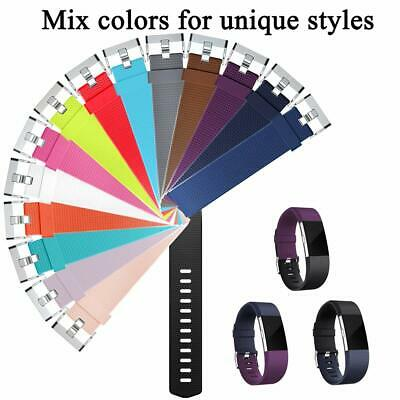 For Fitbit Charge 2 Band Replacement Sports Watch Strap Wristband Small Large SL 2