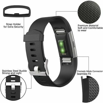 Fitbit Charge 2 Small Replacement Bracelet Watch Band Heart Rate Fitness 3 PACK 4