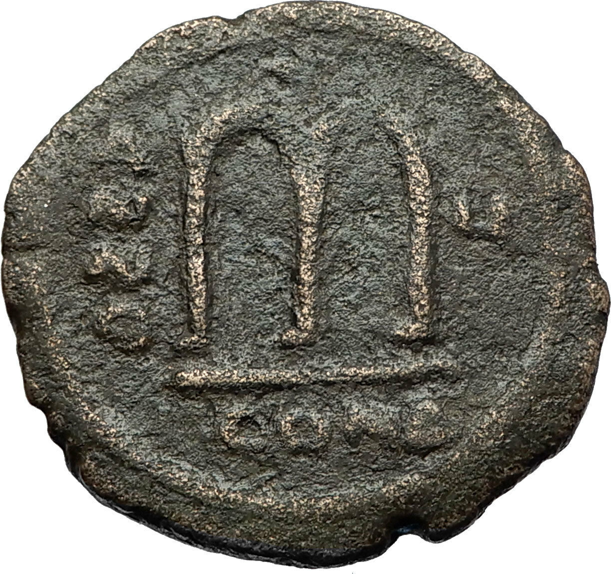 TIBERIUS II CONSTANTINE Authentic Ancient 578AD Follis Byzantine Coin i71149 2
