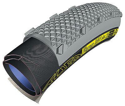 Tufo Cyclocross Tubular Tire Flexus Dry Plus Cubus Primus 33 SG Sew-Up Gravel CX