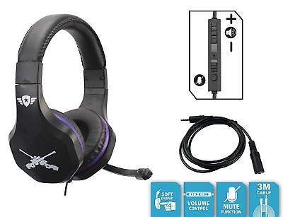 Fortnite Gaming Headset 3.5mm PS4 Xbox One PC Nintendo Switch with Mic 9
