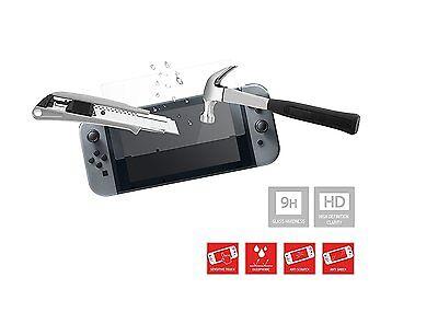 Film de protection d'écran en verre trempé 9 H Nintendo Switch Officiel Neuf 3