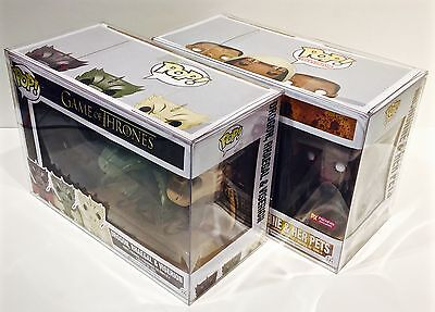 1 Box Protector For Many (Not All) FUNKO POP! 3 Packs  Read! Clear Display Case 11