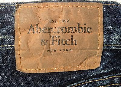 Abercrombie & Fitch Jeans BAXTER Indigo Destroy W28 L30 RRP $279 Mens or Boys 4