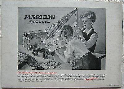 MÄRKLIN Die elektrische Miniatur-Eisenbahn Spur 00 1949 Broschüre 753 Anleitung