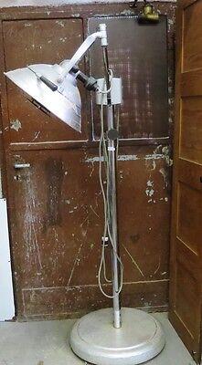 Operationslampe, Ritter Dental, Columbia, Rochester, N.Y, Stehlampe, Edelstahl,