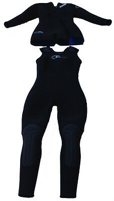 aa791786d6 2 of 6 Harvey s 2 Piece Farmer Jane 7MM Kobalt Women s WetSuit Black Large