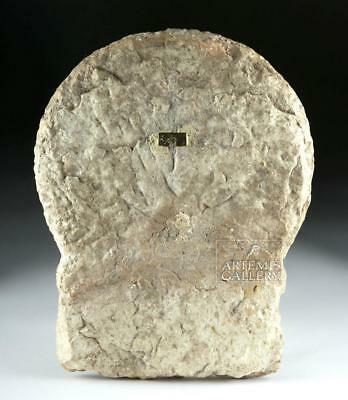 Translated Graeco-Romano Marble Stele of Timotheos Lot 32B