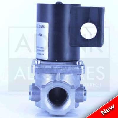 """Gas Solenoid Valve 1"""" for Gas Interlock System Shut Off Kitchen Canopy 28mm 4"""