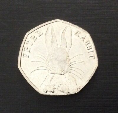 50p Coin 2016 Peter Rabbit FREEPOST 2
