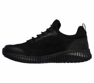 Skechers Black shoes Women Work Memory Foam Slip-On Comfort Slip Resistant 77260 3
