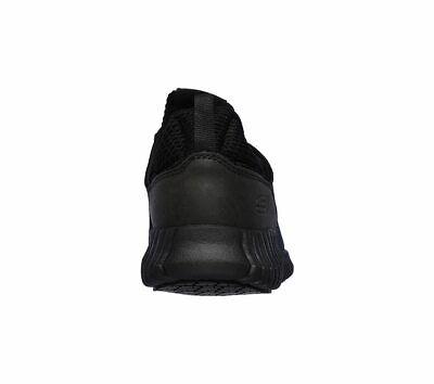 Skechers Black shoes Women Work Memory Foam Slip-On Comfort Slip Resistant 77260 6