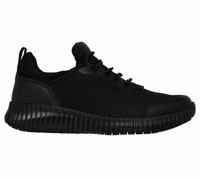 Skechers Black shoes Women Work Memory Foam Slip-On Comfort Slip Resistant 77260 2