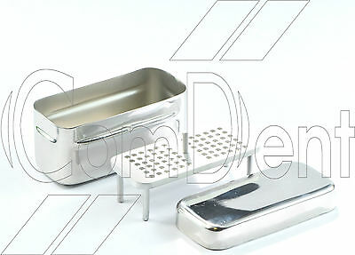 ComDent Dental Endodontic Box with 72 Holes Stand Stainless Endo Box CE New