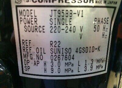 DAIKIN 0561048 JT95BB-V1 220v-240v AIR CON COMPRESSOR - BRAND NEW 2