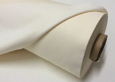 Blackout Curtain Lining Fabric  3 Pass Ivory  Thermal Material Sold Per Metre 2