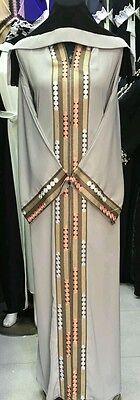 Women open  front abayas.latest model.size 54.56.58 .japanese  neda/linen 2