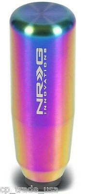 """NEW NRG Weighted Shift Knob Universal 5/"""" Tall Neochrome New Design SK-480MC"""
