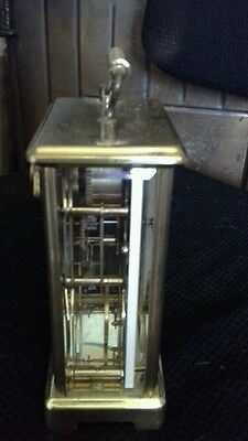 Brass Carriage clock 2