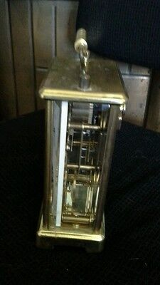 Brass Carriage clock 4