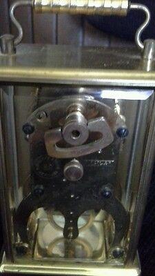 Brass Carriage clock 3