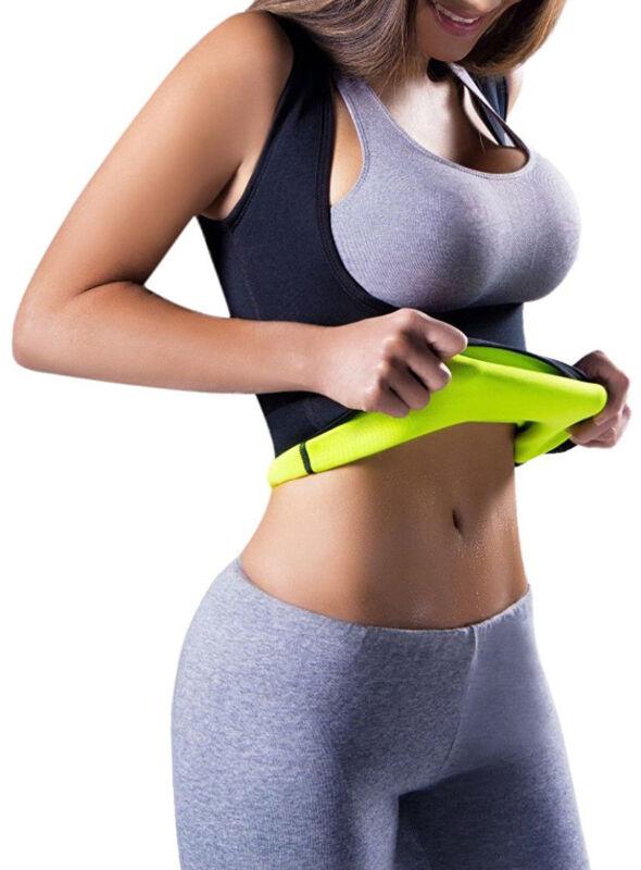 Men Neoprene Vest Cami Hot Shaper Gym Women Sauna Sweat Thermal Tank Top Girdles 11