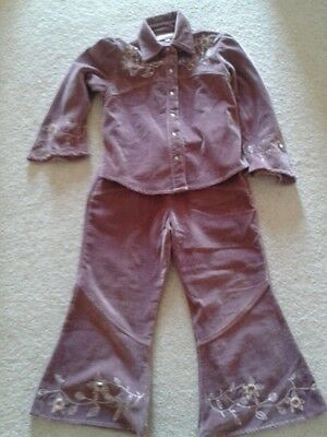 INFANCY  Velvet Trousers & JACKET/SHIRT SET  7 YEARS  . Stunning !!! 2