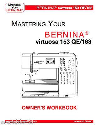 Bernina virtuosa 153 qe 163 instruction manual workbook in 2 of 4 bernina virtuosa 153 qe 163 instruction manual workbook in color cd pdf fandeluxe Images