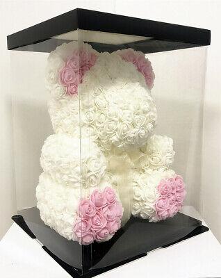 Foam Rose Flower Unicorn Christmas Gift  Rose Teddy Bear For Birthday Wedding 5