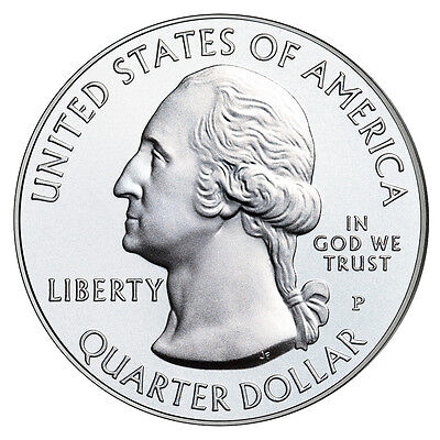 2013 P&d Mount Rushmore National Memorial Quarters Uncirculated From Mint Rolls 2
