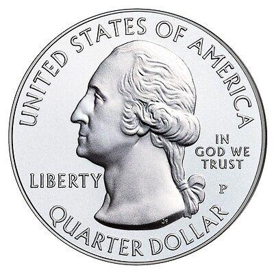 2014 P&d Set Great Smoky Mountains National Park Quarters Uncirculated Us Mint 2