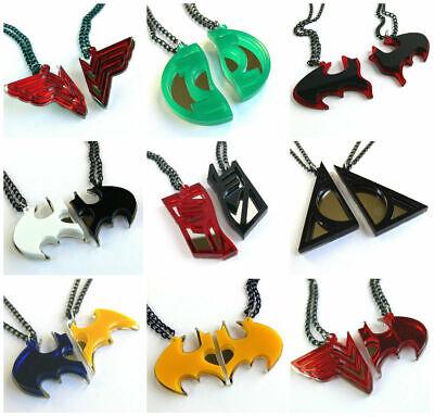 Wu Tang Clan Halskette Laser geschnitten gravierten Spiegel Kunststoff 8