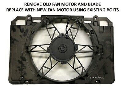 2015-2019 POLARIS RZR 900 and S-900 SPAL HP COOLING FAN OE# 2412447