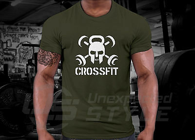 Crossfit GYM T-shirt WOD Functional Sport Training Workout Strength + YOUR NAME 3