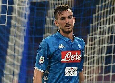 FABIAN RUIZ 8 maglia Napoli 2018 2019 home shirt KOMBAT player ...