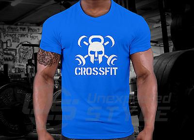 Crossfit GYM T-shirt WOD Functional Sport Training Workout Strength + YOUR NAME 6